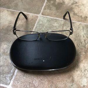 Giorgio Armani frames with case - Box E91
